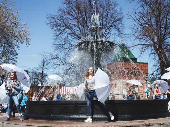 Сезон фонтанов в Нижнем Новгороде откроется 30 апреля