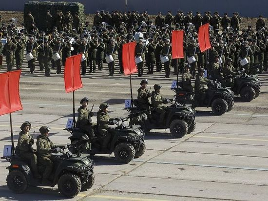 Назван список военной техники на Параде Победы