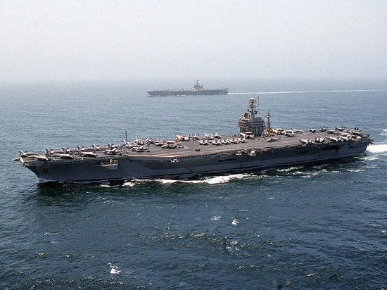 Дрон-разведчик остался незамеченным для корабельной ПВО США