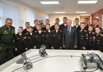 Курсанты собрали модуль распознавания команд, и продемонстрировали президенту РФ работу этой системы