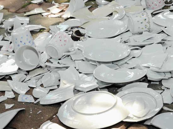 В Саранске 29-летний дебошир побил в кафе посуду