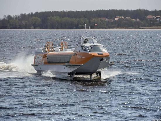 Суда на подводных крыльях начнут курсировать в Нижегородской области в июне