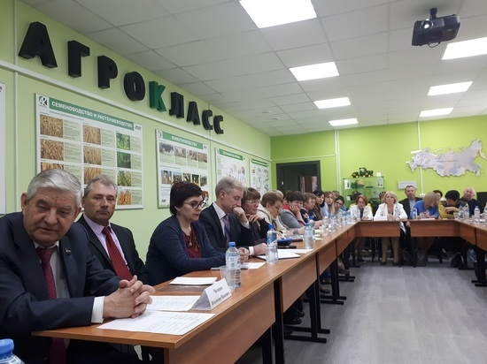 Количество агроклассов в Калужской области утроят