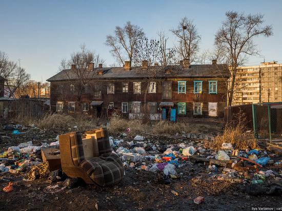 В Хабаровске снесут восемь бараков