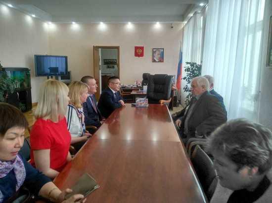 НГАУ с рабочим визитом посетила делегация республики Алтай