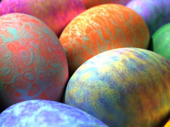 Жители Саранска могут пожертвовать пасхальные яйца в пансионат