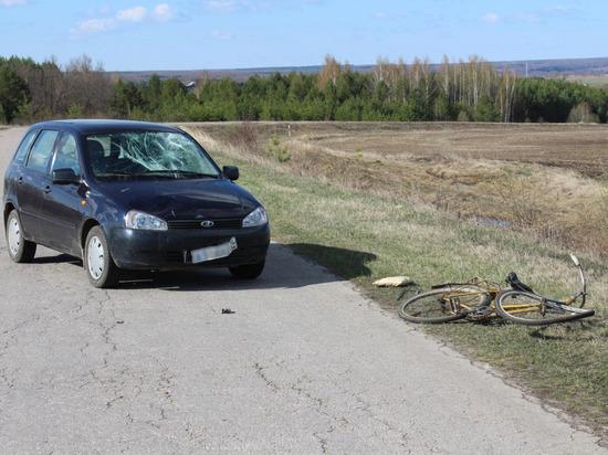 В Чувашии женщина-водитель сбила велосипедиста