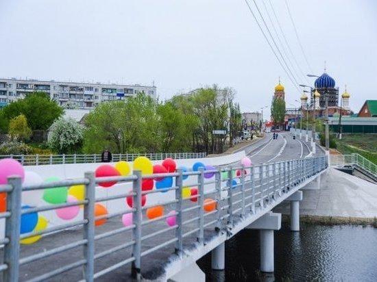 Под Волгоградом открыли мост через Мечетку