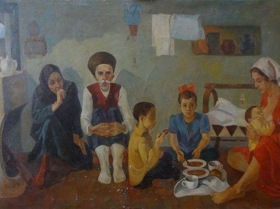 В Калмыкии представлена выставка дагестанских художников