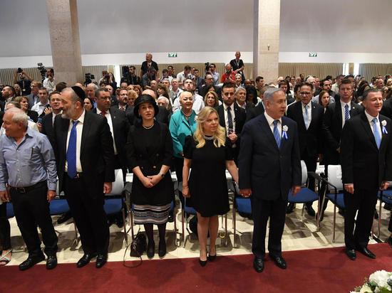 Премьер-министр принял участие в первом заседании Кнессета 21-го созыва