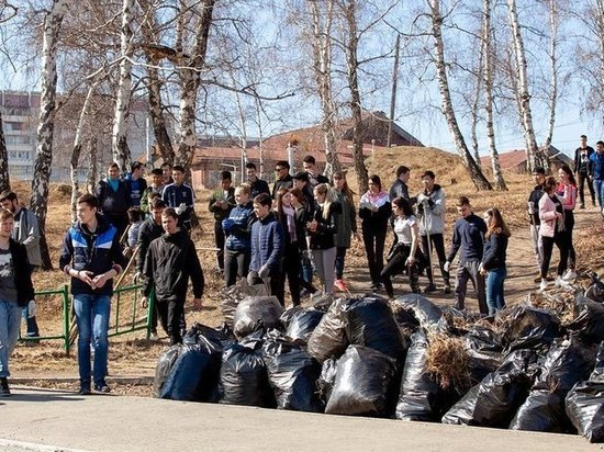 В Иркутске прошли массовые субботники