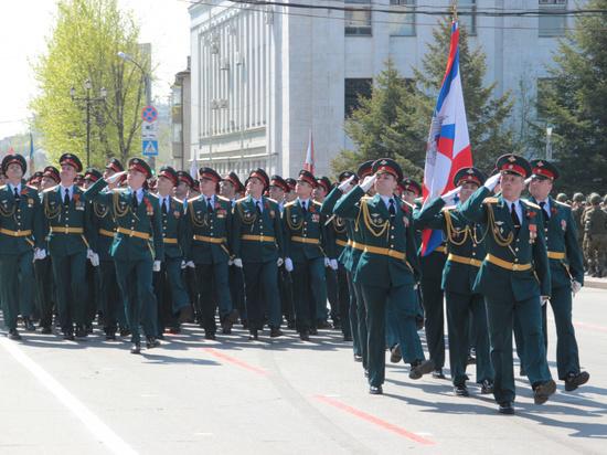 График репетиций парада изменили в Хабаровске