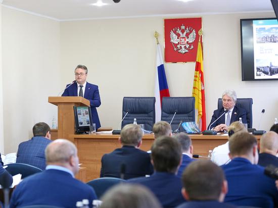 Мэр Воронежа отчитался перед депутатами гордумы