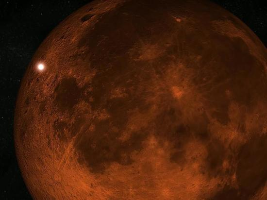 В Луну врезался неизвестный космический объект