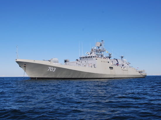 Россия представила фрегат «Адмирал Эссен» на международной выставке в Турции