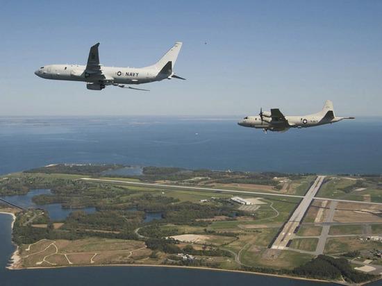 Самолеты ВВС США провели разведку близ границ России