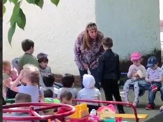 В Краснодаре уволят заведующую садиком,заставившую ребенка целовать землю