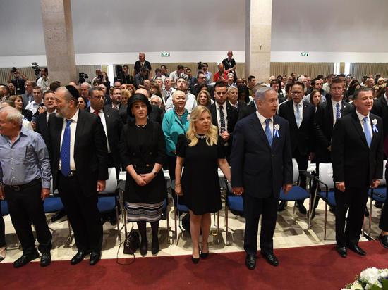 Состоялась церемония, посвященная Дню памяти Катастрофы и героизма европейского еврейства