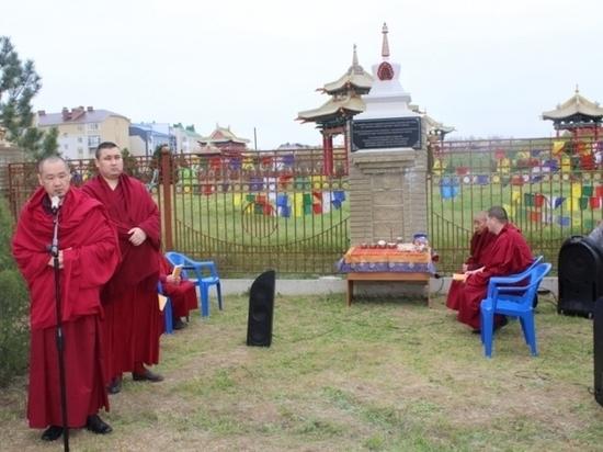 В Калмыкии построена ступа памяти воинов-интернационалистов