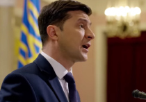 Избранный президент Украины Владимир Зеленский прокомментировал запуск шоу со своим участием на российском телевидении