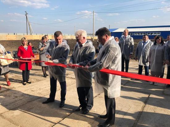 В Тамбовской области открылась молочно-товарная ферма