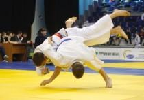 Калмыцкие дзюдоисты борются на всероссийском турнире