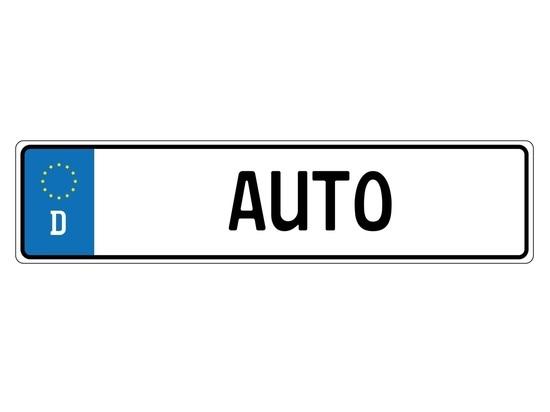 Германия: Запрещенные автомобильные номерные знаки