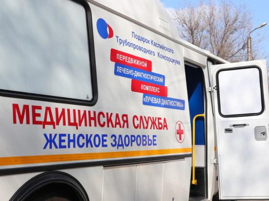 Передвижной лечебный комплекс отправится по районам Калмыкии