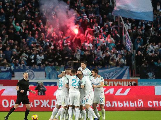 «Зенит» снова стал чемпионом России по футболу