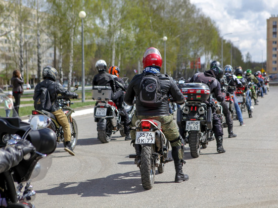 Байкеры в Саранске официально открыли мотосезон