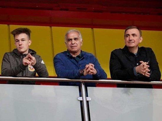 """Дюмин поздравил тульский """"Арсенал"""" с победой"""