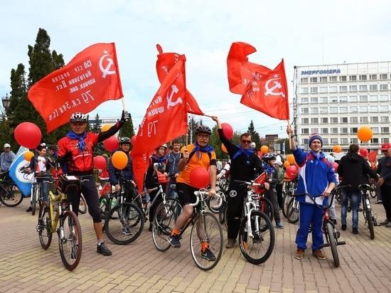«Веломарш Победы» прокатился по Ставрополю