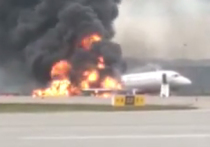 Эксперты объяснили сильное пламя при пожаре «суперджета»: заправлен под завязку