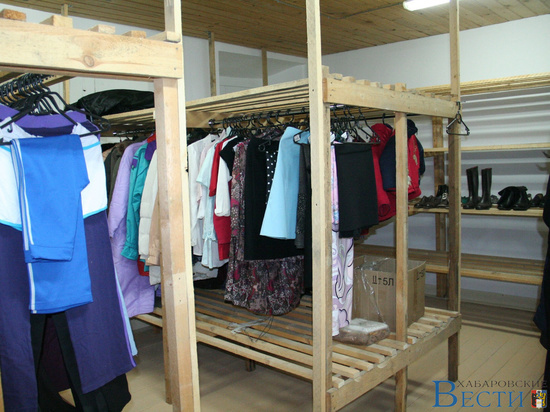 Гуманитарный склад для нуждающихся открылся в Хабаровске
