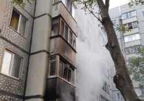 В Железноводске из-за пожара введён режим ЧС