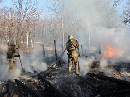 В Хабаровском крае тушат пожары на 9 тыс. га