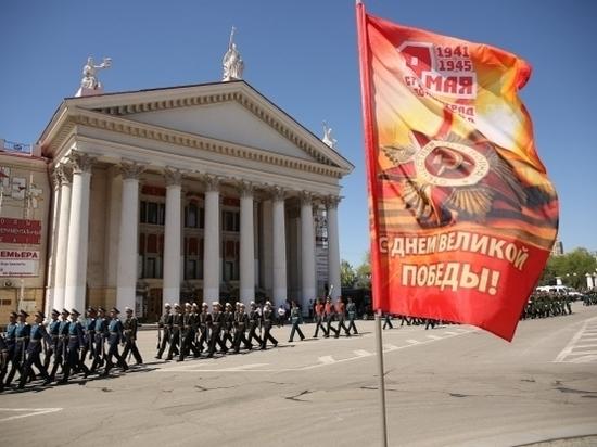 Ко Дню Победы в Волгограде установят 630 баннеров, плакатов и флагов