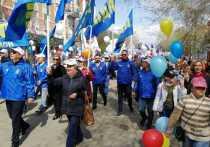 ЛДПР пытались выгнать с первомайского шествия в Оренбурге