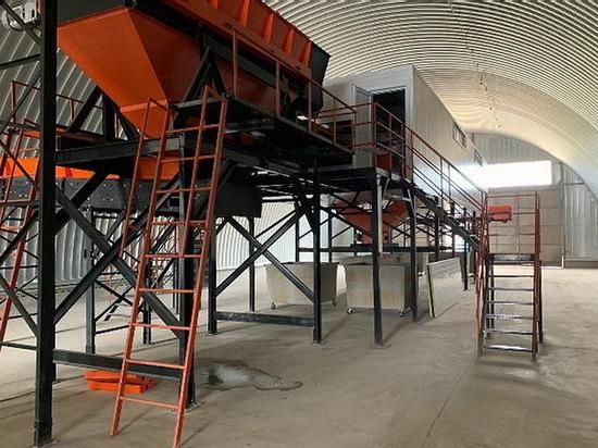 Мощный мусоросортировочный комплекс запущен в Воронежской области