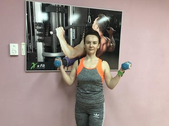Ксения Руденко сбросила два килограмма на проекте