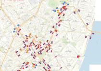 Мэрия Воронежа опубликовала план перекрытия улиц для движения автотранспорта в центральной части города на 9 мая