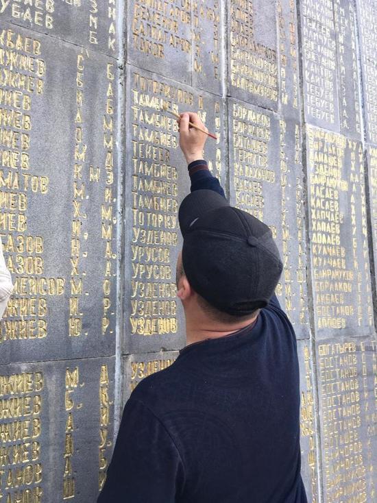 Волонтёры МТС отреставрировали очередной мемориальный комплекс в СКФО
