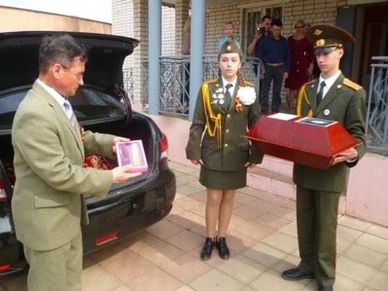 Останки чувашского солдата обрели покой через 77 лет