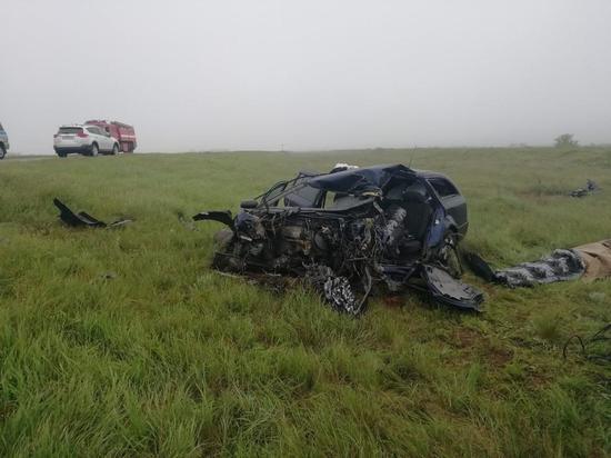 На дорогах Калмыкии погибло четыре человека