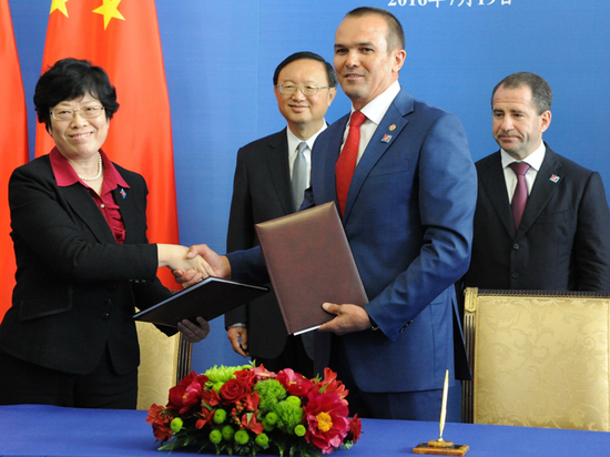 Чувашия и Китай — сотрудничество нагосударственном уровне