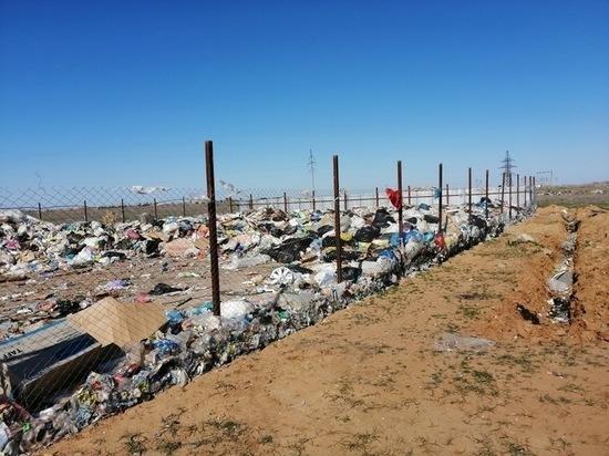 Как в районах Калмыкии «проводится» мусорная реформа