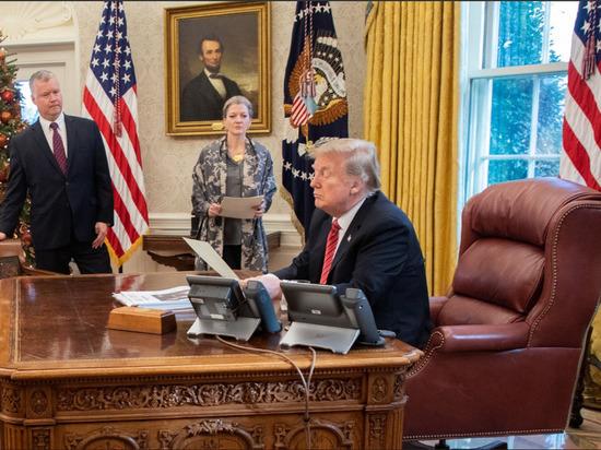 В Минфине США отказались предоставить конгрессу декларации Трампа