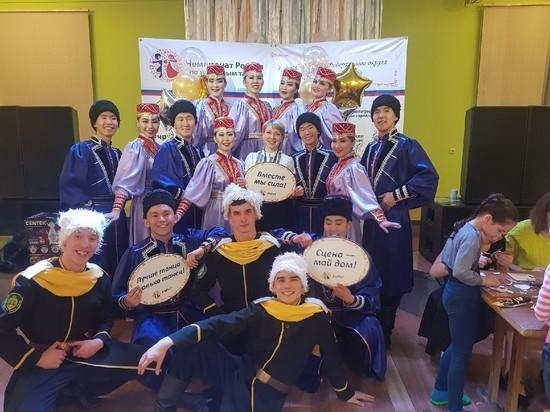Творческий коллектив ВСГУТУ из Улан-Удэ занял 1 место в чемпионате России по танцам