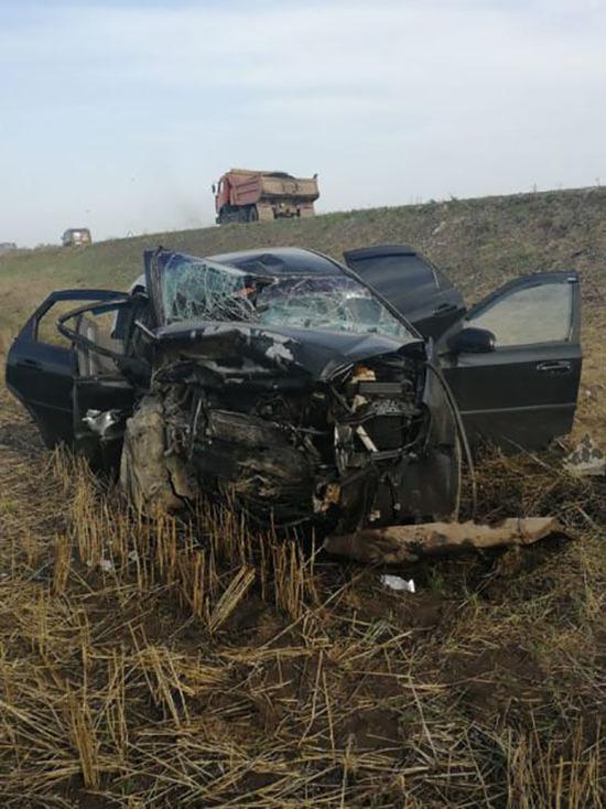 Страшная авария в Башкирии: погибла женщина, пятеро пострадали