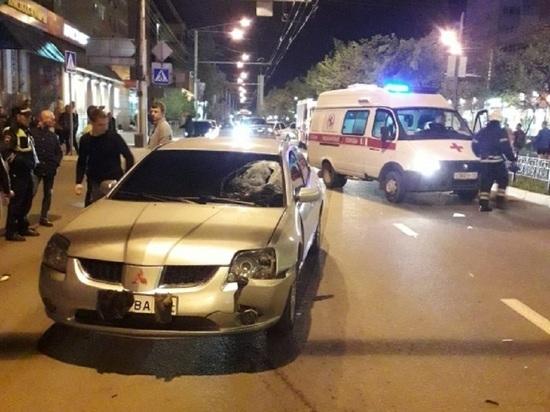 Ночью на Кирова в Калуге сбили человека